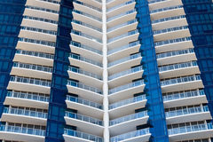 Modern Condominium Towers Royalty Free Stock Photography
