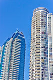 Modern Condominium Towers Royalty Free Stock Photos