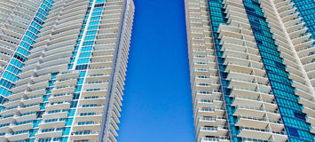 Modern Condominium Towers Stock Photography