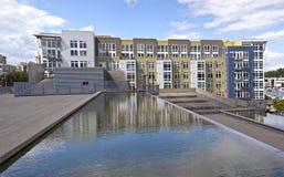 Modern Condominiums In Tacoma Washington. Royalty Free Stock Photo
