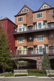 Modern condominiums, Portland OR. Royalty Free Stock Photography