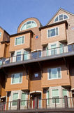 Modern condominiums, Portland OR. Royalty Free Stock Photo