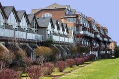 Modern condominiums, Portland OR. Royalty Free Stock Image