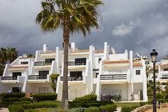 Modern Condos in Marbella Stock Image