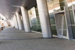 Modern Conference Center. Entryway or doorway to a large, modern conference or convention center.  Dallas, Texas Royalty Free Stock Photo