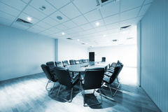 Modern conference room Royalty Free Stock Photo