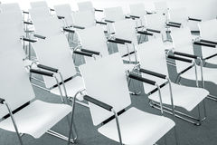 Modern conference room chairs Stock Photo