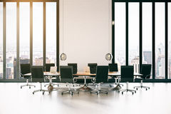 Modern conference room Stock Images