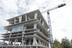 Modern construction Stock Images
