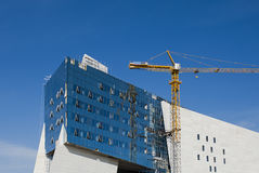 Modern Construction Royalty Free Stock Photo