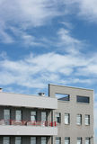 Modern construction building with sky Stock Photo