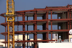 Modern construction site Royalty Free Stock Photography