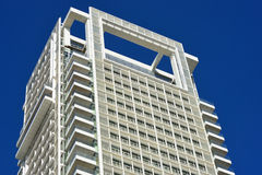 Modern construction style. Royalty Free Stock Photography