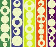 Modern Contemporary Abstract Round Circles Painting Royalty Free Stock Photos