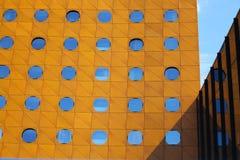 Modern contemporary architecture. fragment Stock Photos