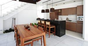 modern contemporary architecture kitchen Stock Photo