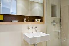 Modern Contemporary Bathroom Royalty Free Stock Photography