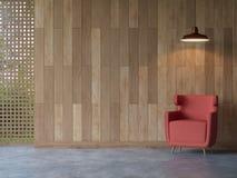 Modern contemporary living room interior 3d rendering image stock illustration
