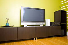 Modern Contemporary Style Interior Room Stock Images