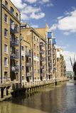 Modern converted warehouse. Along the river Thames, London Royalty Free Stock Images