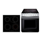 Modern cooker with above view siolated Stock Image