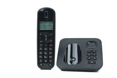 Modern cordless phone Royalty Free Stock Photo