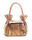 Modern Cork Handbag Stock Image