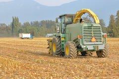Modern Corn Harvesting Equipment Stock Images