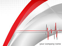 Modern corporate background Stock Image