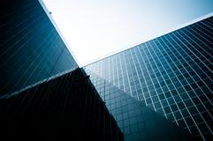 Modern corporate building stock image