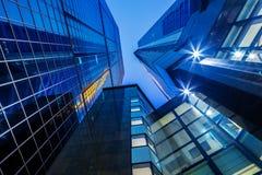 Modern corporate building Stock Photos
