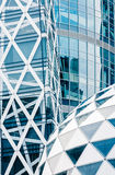 Modern corporate buildings Stock Image