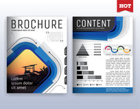 Modern corporate business flyer layout design. Multipurpose modern corporate business flyer layout design. Suitable for flyer, brochure, book cover and annual vector illustration