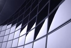 Modern Corporate Facade royalty free stock images