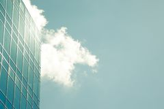 Modern corporate glass building Stock Image