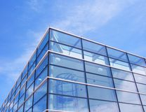 Modern corporate glass  building Royalty Free Stock Photo