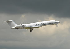 Modern corporate jet Royalty Free Stock Photography