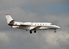 Modern corporate jet Royalty Free Stock Photos