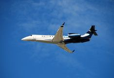 Modern corporate jet Royalty Free Stock Images