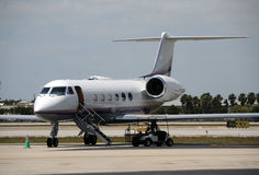 Modern corporate jet Stock Photography