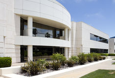 Modern Corporate Office Building in California Royalty Free Stock Images