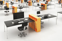 Modern corporate office Royalty Free Stock Photos