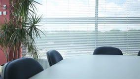 Modern corporation office stock footage