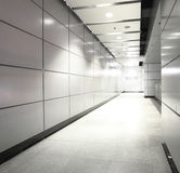 Modern corridor Stock Image