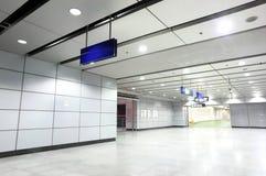 Modern corridor Stock Images