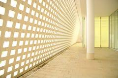 Modern corridor. Bright and shine modern corridor Stock Photo