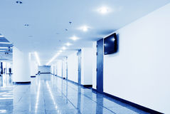 Modern corridor Royalty Free Stock Photo