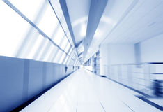Modern corridor Royalty Free Stock Photography