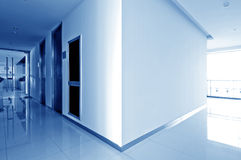 Modern corridor Royalty Free Stock Images