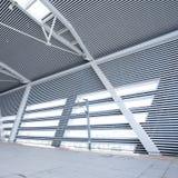 Modern corridor. Interior of modern corridor at railway station Royalty Free Stock Photography